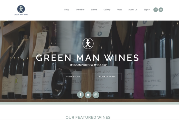 Green Man Wines